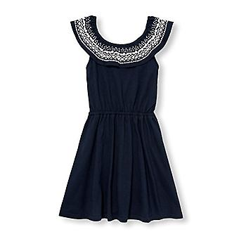 The Children's Place Big Girls' Shoulder Dressy, Tidal 01173, Size Small