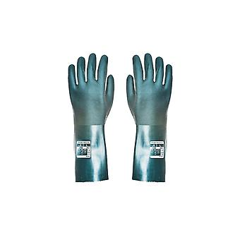 Portwest double dipped pvc gauntlet 35cm a835