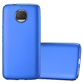 Futerał Cadorabo do obudowy Motorola MOTO G5S PLUS - Obudowa na telefon z tworzywa sztucznego Hardcase przed zadrapaniami i nierównościami - Obudowa ochronna Ultra Slim Back Case Hard Cover