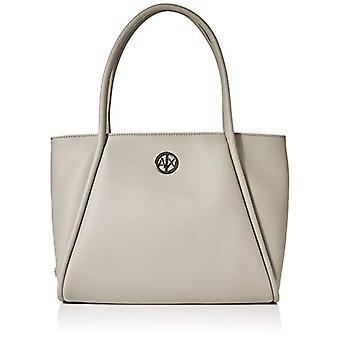 ARMANI EXCHANGE Small Shopping Bag - Borse Tote Donna Grigio (Grey) 10x10x10 cm (W x H L)