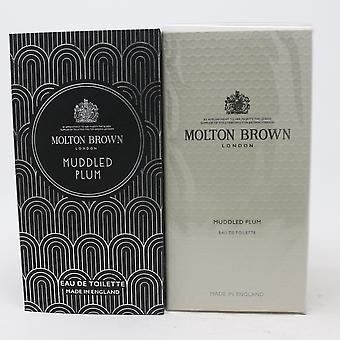 Mubbled Plum by Molton Brown Eau De Toilette 3.4oz/100ml Spray New With Box