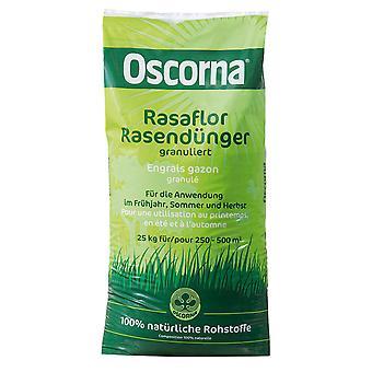 OSCORNA® Rasaflor gazon meststof gegranuleerd, 25 kg