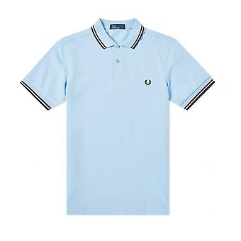 Fred Perry Twin Tipped FP Blau Shirt Polo
