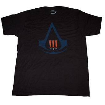 Assassin's Creed 3 Distressed Logo T-Shirt