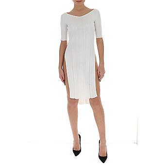 Gentry Portofino D511vig0011 Women's White Viscose Dress