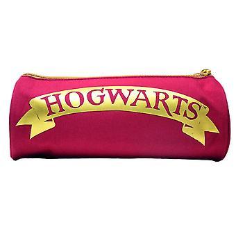 Harry Potter Hogwarts Barrel Pencil Case