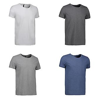 ID Mens Fitted Round Neck Casual T-Shirt