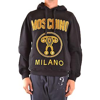 Moschino Ezbc015130 Men's Black Cotton Sweatshirt