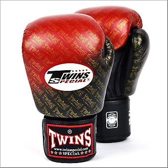 Twins special colour fade boxing gloves - red