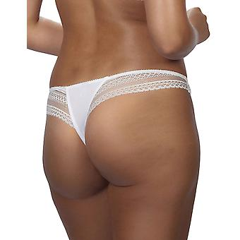 After Eden 10.35.6094-010 Women's Kylie White Panty Thong