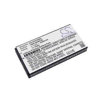 Battery for Unitech 1400-900023G 1400-900033G S12GT1301A S12GT301A PA700 PA720