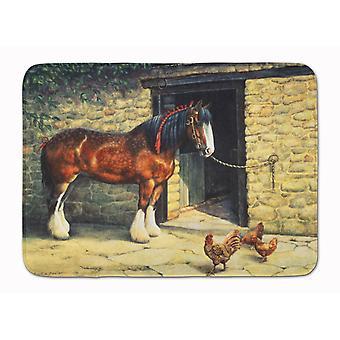الحصان والدجاج دافني باكستر الجهاز ذاكرة قابلة للغسل بالرغوة حصيرة