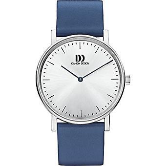 Danish DZ120475 Designs-wristwatches, ladies, leather, color: Blue