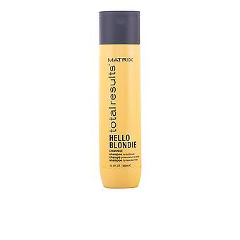 Matrix Total resultat Hello Blondie Shampoo 300 Ml Unisex