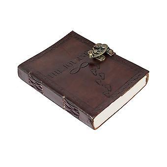 Diario Diario Retro Vintage Clásico Cuero Encuadernado Cuaderno