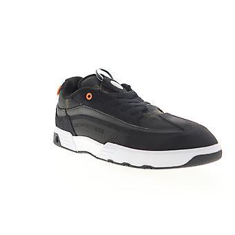 DC Legacy 98 Slim SE  Mens Black Suede Low Top Skate Sneakers Shoes