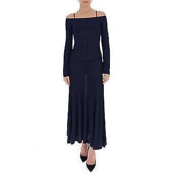 Jacquemus 201kn0620152380 Women's Blue Viscose Dress
