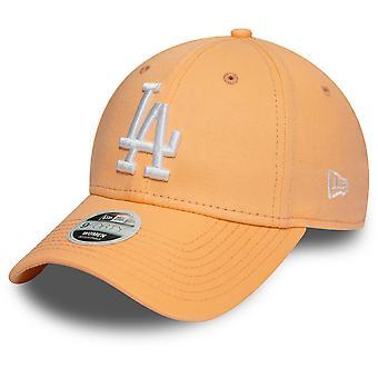 New Era 9Forty Women's Cap - Los Angeles Dodgers peach orange