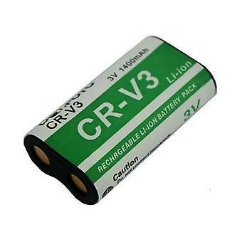 Kyocera CR-V3 Replacement Battery from Dot.Foto - 3.0v / 1200mAh - 2 Year Warranty - Kyocera Finecam L3, L30, L3v, L4, L4v