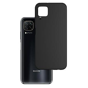 Hull For Huawei P40 Lite Black Mat Soft 1.2 Mm Matt Case