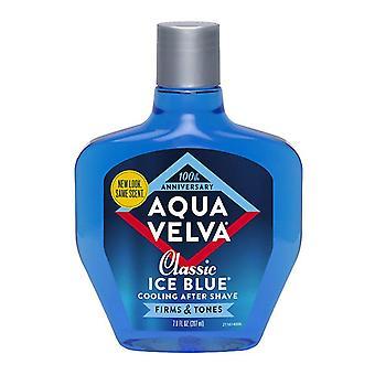 Aqua velva classic ice blue after shave, classic ice blue, 7 oz