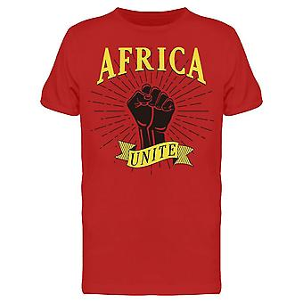 Africa Unite Fist Hand Tee Men's -Image by Shutterstock