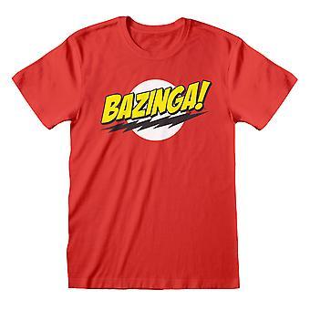 The Big Bang Theory Bazinga Women's Boyfriend Fit T-Shirt | Mercadoria Oficial