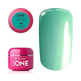 Base one-Metallic-Amazon forest 5g UV Gel