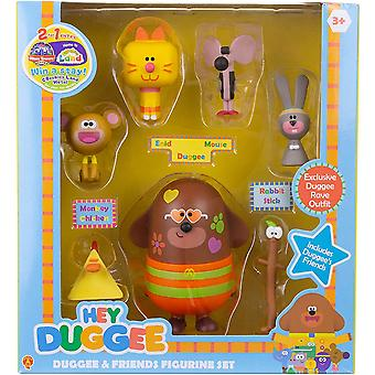 Hey Duggee and Friends Figurine Set For Ages 36 Months+