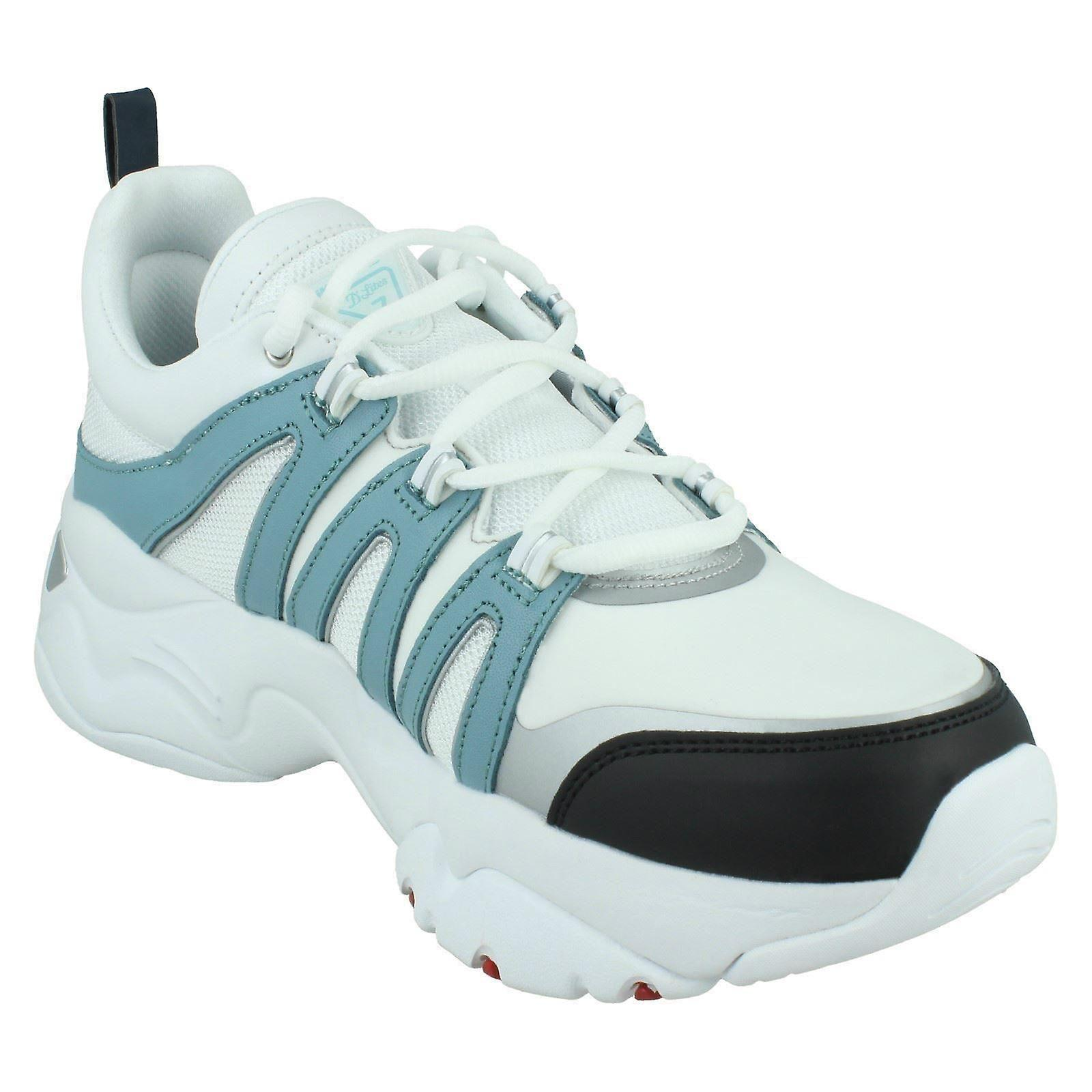 Ladies Skechers Casual Lace Up Trainers D'lites 3.0 Trendy Feels 12957