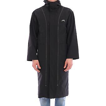 En kall vägg Acwmo002whlblak Men's Black Nylon Outerwear Jacket