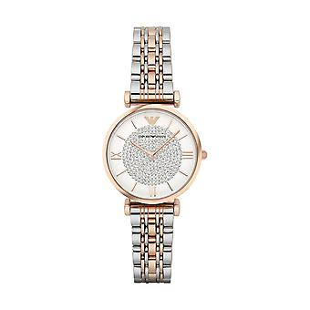 Emporio Armani AR1926 Damer Watch - Sølv/Rose