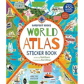 World Atlas Sticker Book by David Dean - 9781782858300 Book