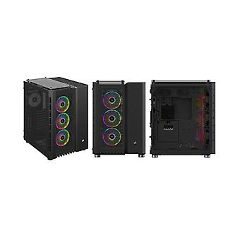 Corsair Crystal Series 680X Rgb High Airflow Tempered Glass Atx Case