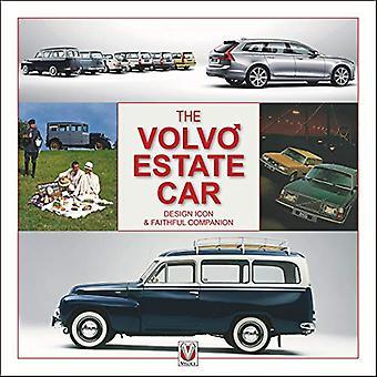 Het Volvo Estate - Designpictogram en Trouwe metgezel door Ashley Holl