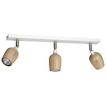Lindo color blanco beath en metal, madera, L63xP24xA17.5 cm