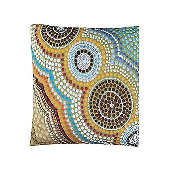 Oceans Garden Aboriginal Design Cushion Cover