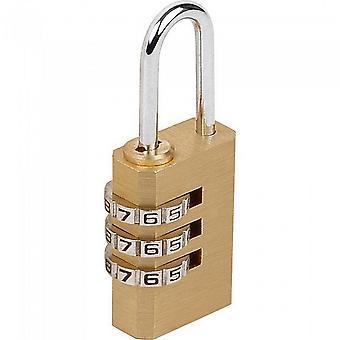 Sterling Light Security 3-Dial Combinatie Hangslot