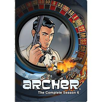 Archer: Seizoen 6 [DVD] USA import