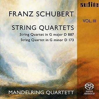 シューベルト - シューベルト: 弦楽四重奏曲、巻 3 [SACD] USA 輸入
