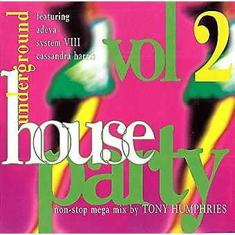 Various Artist - Underground House Party 2 [CD] USA import
