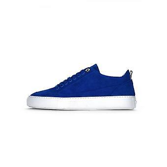 Mason Garments Royal Blue Tia Low Suede Sneaker