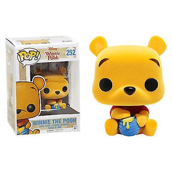 Winnie the Pooh Seated Pooh Flocked US Exclusive Pop! Vinyl