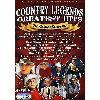 Country Music Legends: 50 Mini Concerts [DVD] USA import