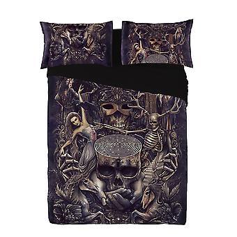 Wild star - labyrinth - duvet case set - uk kingsize