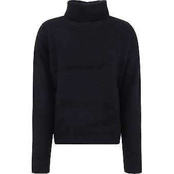 Acne Studios B60136black Men's Black Wool Sweater