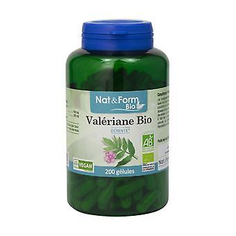 Organic Valerian 200 vegetable capsules