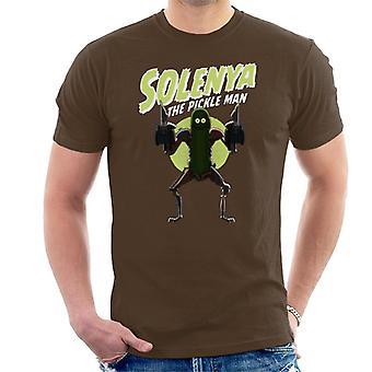 Rick og Morty Solenya den pickle mann menn ' s T-skjorte