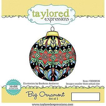 Taylored Expressions Big Ornament