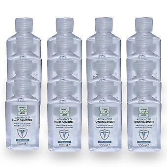 Hand Sanitiser Gel 75% Alcohol 100ml 99% Anti-bacterial(Pack of 16)